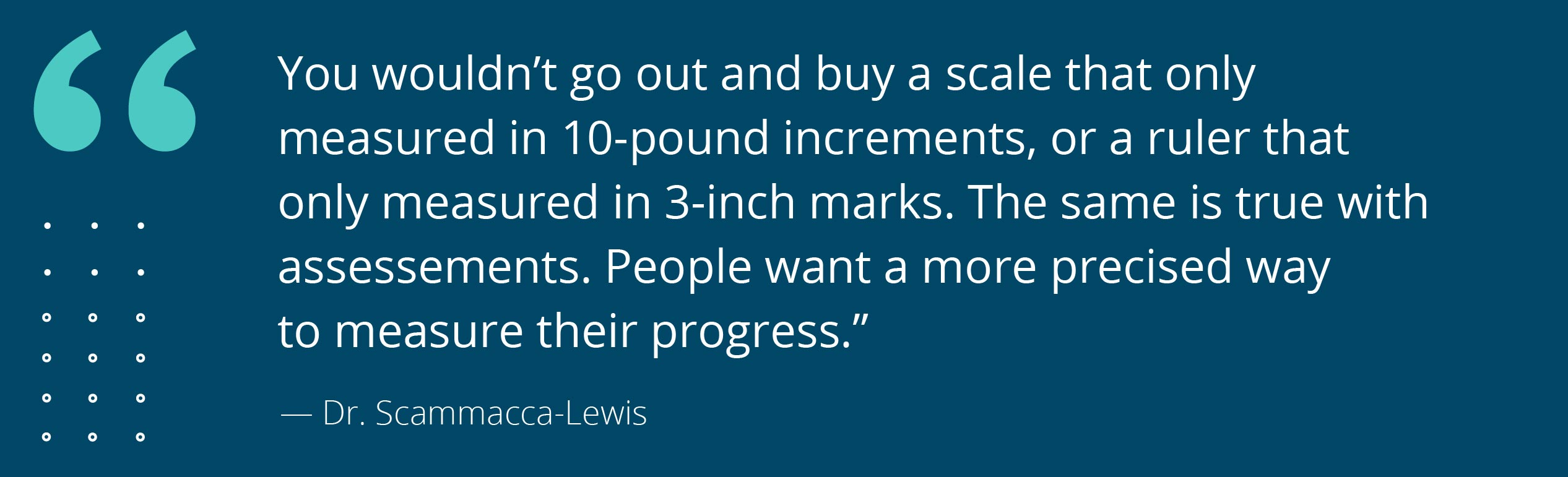 The Difference Between Church Surveys and Assessments [and Why You Should Care]_Scammacca_lewis_quote