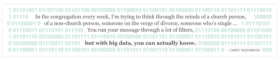 big data for church
