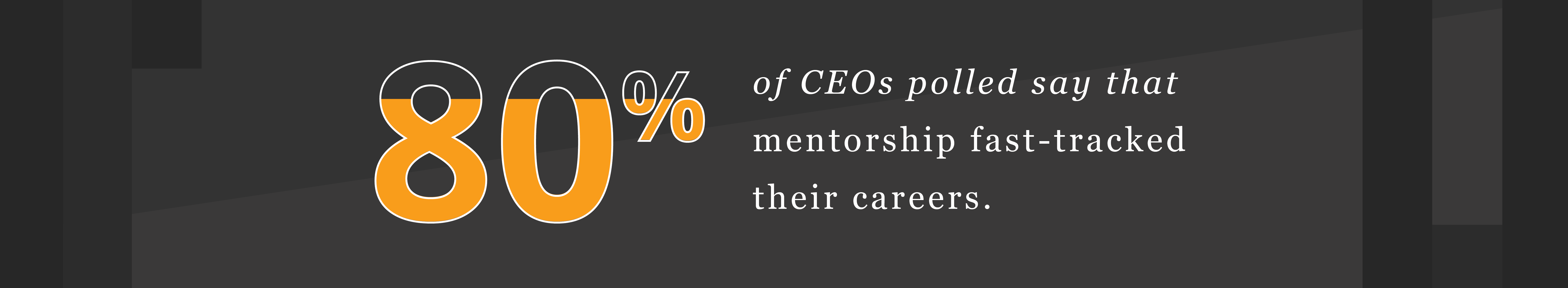 corporate mentoring stats