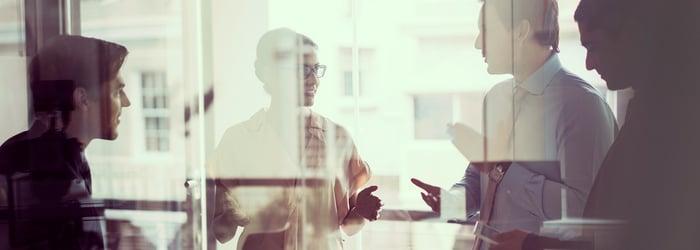 image of engaged employees